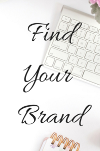 Find your brand- logo, web design, social media